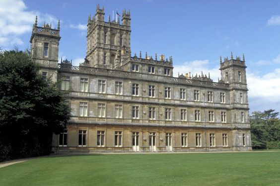 Highclere Castle in Berkshire (South East England) is the real castle that plays the role of Downton Abbey.