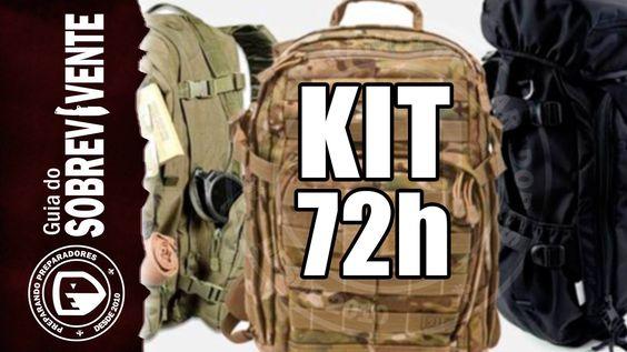 Como montar um kit 72 hs para emergências domésticas - Tutorial Completo...
