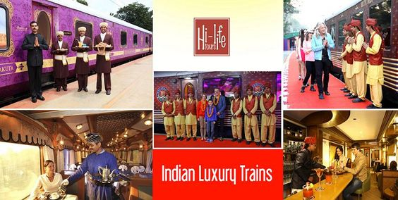 Indian Luxury Trains are high on elegance & the best way to tour country.