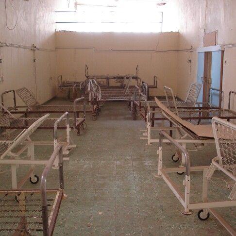 Hospital abandonado en Gran Canaria donde hicimos el rodaje de un corto (2007?)