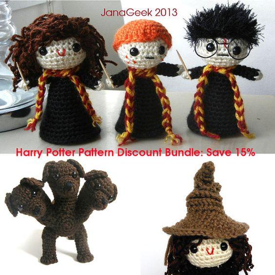 Harry Potter Inspired Crochet Pattern Discount Bundle Save ...