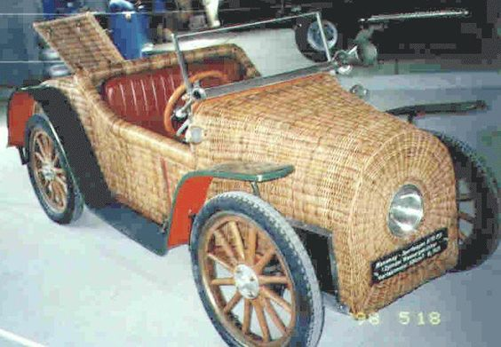 """Hanomag """"Kommisbrot"""" (Commisioner's loaf - the bonnet looked like a loaf of bread!), Germany. Most were metal bodied though."""