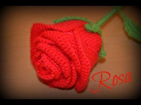 Amigurumi Flower Tutorial : Easy crochet rose pattern crochet flower patterns crochet