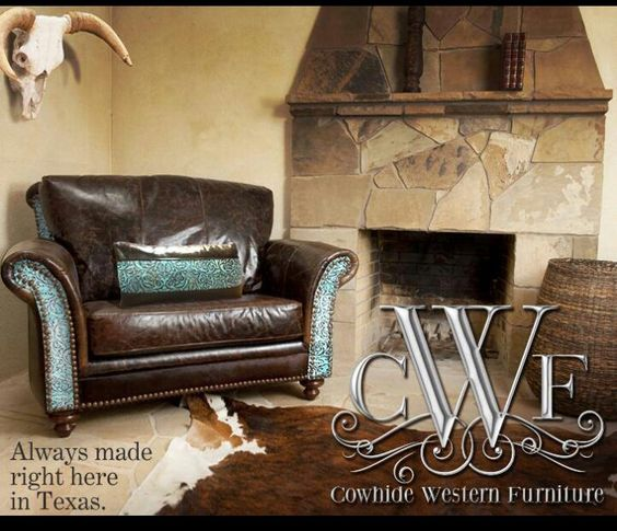 Cowhide Western Furniture Co For The Home Pinterest Western Furniture Furniture And Westerns