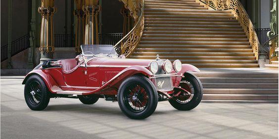 Autrefois propriété de Giuseppe Campari ,Alfa Romeo 6C 1750 à compresseur spider Gran Sport 1931 at Bonham's Auction House