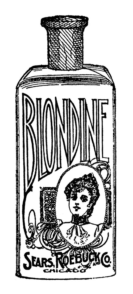 Blondine Bottle