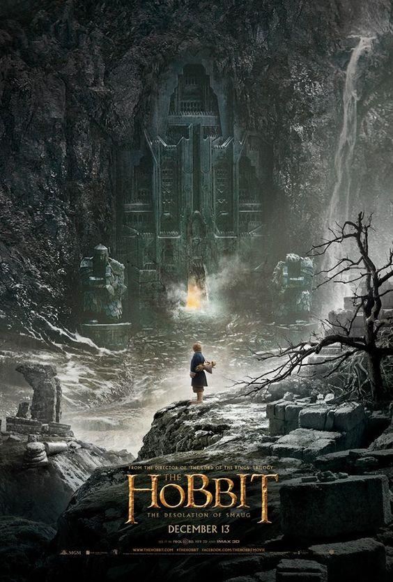 The Hobbit: Desolation of Smaug Official Movie Poster /// AAAAAAAAAAAAAAAAAAAHHHHHHHHHHHHHHHHHHHHHHHHHHH