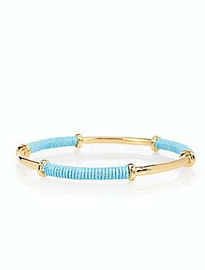 Talbots - Thread-Wrapped Bangle | New Arrivals |