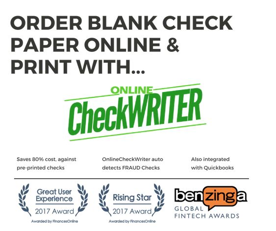 Checks Unlimited Switch To Blank Check Printing Software Save
