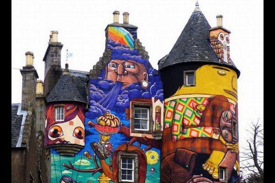 Fairlie, Scotland  2010    via