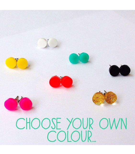 Each To Own Circle Studs