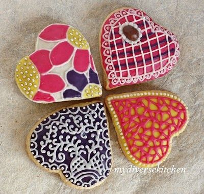Funky decorated cookies!