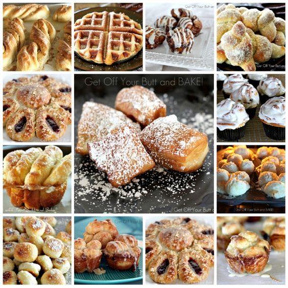 The magic of Rhodes frozen bread dough!