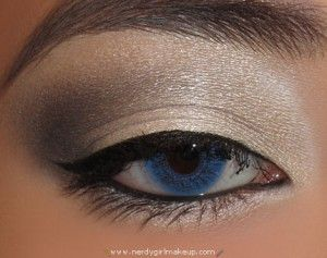 My eyeliner never goes on that smoothly!