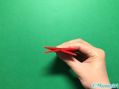 折り紙でいちごの折り方 簡単 立体的な苺 手紙など3種類紹介 ページ 3 Monosiri 折り紙 手紙 いちご