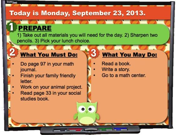 Editable FALL Owl Themed Morning Work PowerPoint Templates - Brighten your room this fall with these owl-themed PowerPoint templates that you can use to display morning work or seat work instructions.This resource contains five PPT slides (one for each day of the week), and there are two templates to choose from for each theme.