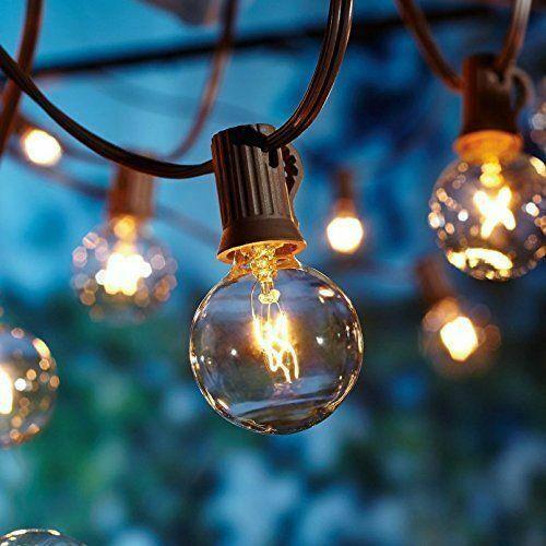 Finden Sie Top Angebote Fur 25 Led 7 6m Gluhbirne Lichterkette Wasserdicht Warmweiss Outdoor Par Lichterkette Draussen Terrassen Lichterketten Lichterkette Aussen