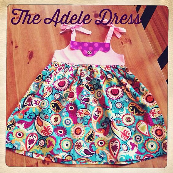 The Adele Dress by CloversGarden on Etsy, $40.00