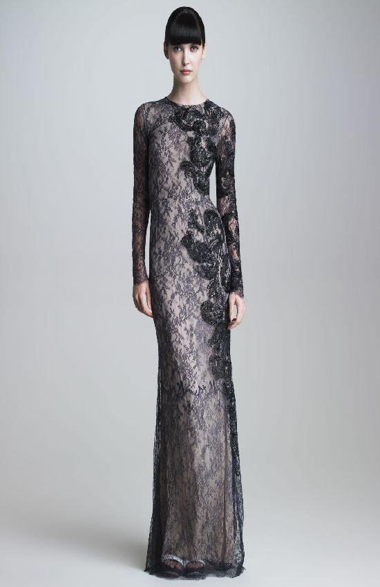2018 Uzun Abiye Elbise Modelleri Zarif Sik Ve Etkileyici Dantel Elbise Uzun Mezuniyet Balosu Elbiseleri Elbise Modelleri