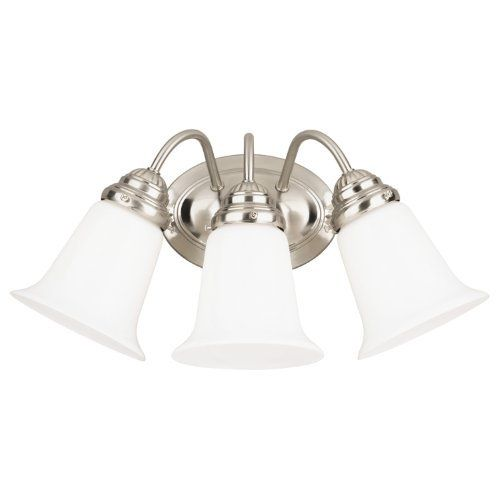 Westinghouse Lighting 6649700 Three-Light Interior Wall Fixture, Brushed Nickel Finish with White Opal Glass, http://www.amazon.com/dp/B000WT7X6S/ref=cm_sw_r_pi_awdm_gQMjtb0CXJN4R