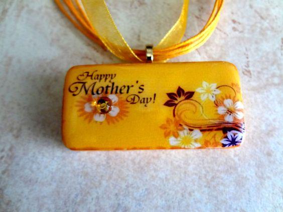 Sunny+Mothers+Day+Domino+Pendant+++Domino+by+pendantparadise,+$9.95