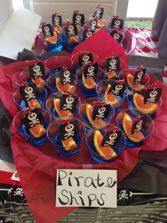 pirate flag toothpicks