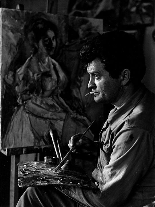 verocskakoschsartcorner:  //…Josef Sudek…// Portrait of a Painter, 1974. http://ift.tt/1OV5pjE   Awesome Art