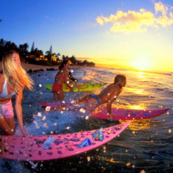Surfing envy