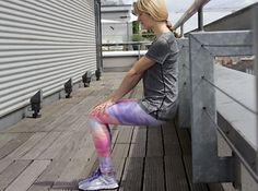 Wandsitzen - Übung gegen Cellulite