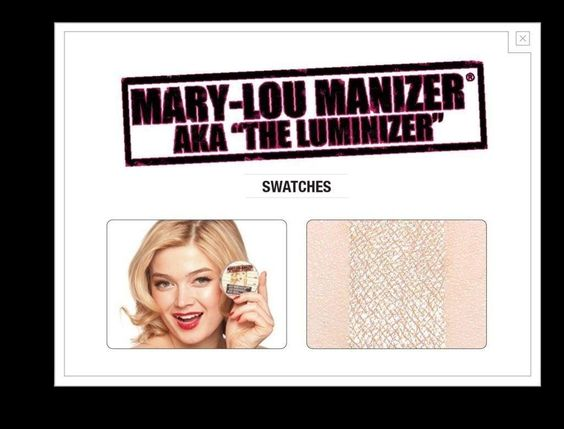 The Balm Cosmetics Mary Lou Manizer Highlighter, Shadow & Shimmer - Count On Us - Beauty - 2