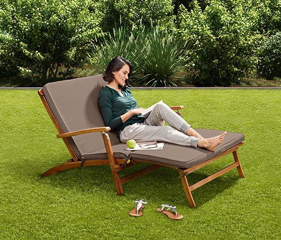 299 00 Relaxen Im Garten Stuhl Bank Oder Liege In Jedem Fall Bequem Der Deckchair Lasst Sich Wunderbar Im Garten Balkonliege Relaxliege Garten Deckchair