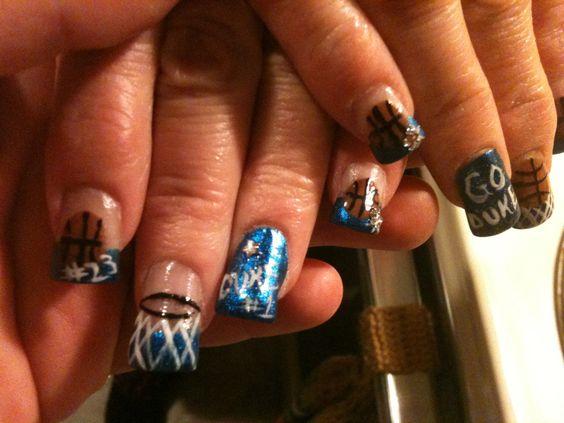 Nail design el paso tx de bedste ider inden for neglekunst view images more nail art duke blue devils prinsesfo Choice Image