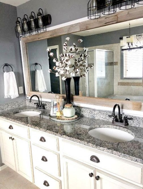 Updated Bathroom Mirrors How To Make Your Builder Grade Bathroom