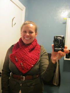 Twenty Something Granny: Chunky Button Cowl (Crochet)