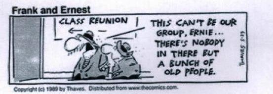 Class Reunion Jokes
