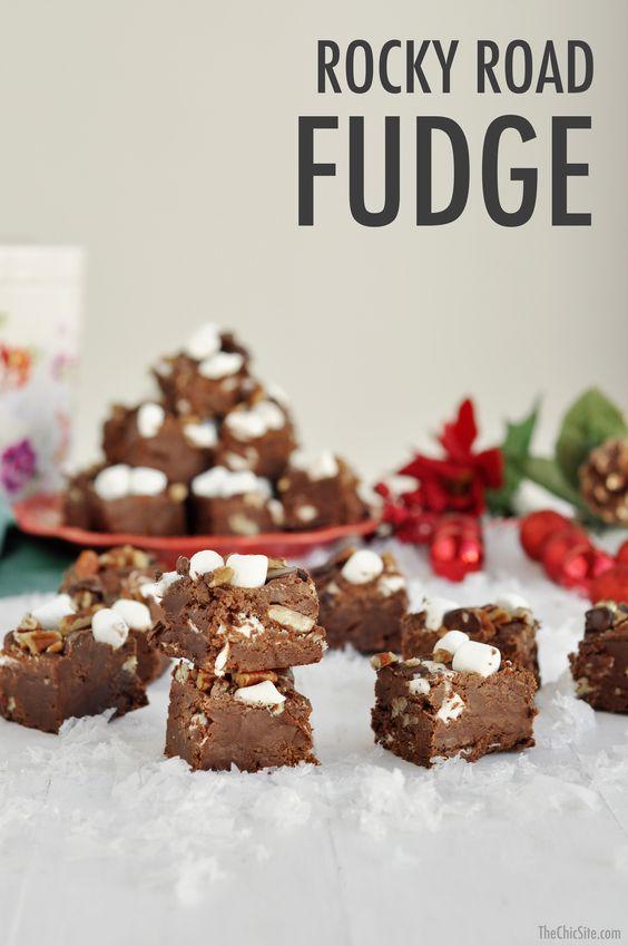 christmas desserts easy holiday fudge