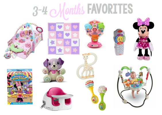 Laura & Co.: 3 & 4 Month Baby Favorites, favorites, baby favorites, 3 month baby favorites, 4 month baby favorites