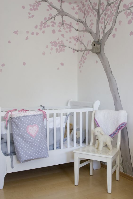 Kinderzimmer f r louise von eva baby kinderzimmer for Kinderzimmer pinterest