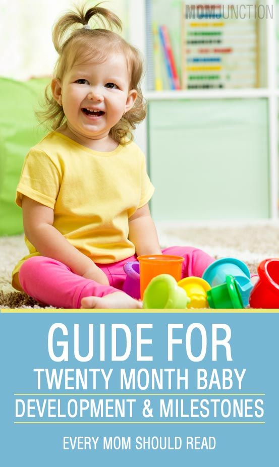 Baby's 20th Month - A Guide To Development And Milestones
