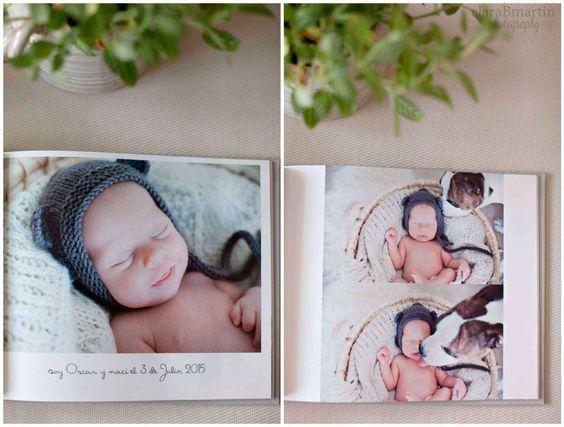 Libro de fotos recién nacido - claraBmartin