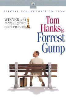 Forrest Gump (1994)  Directed by Robert Zemeckis,  Wriiten by Winston Groom(novel), Eric Roth(screenplay),  Starring Tom Hanks, Robin Wright, Gray Sinise
