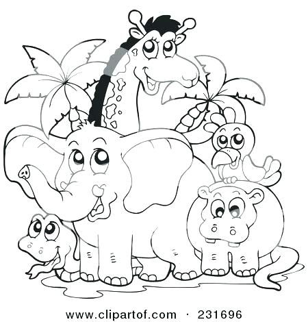 African Animal Coloring Pages Animals Coloring Pages Animals Zoo Animal Coloring Pages Animal Coloring Pages Animal Coloring Books