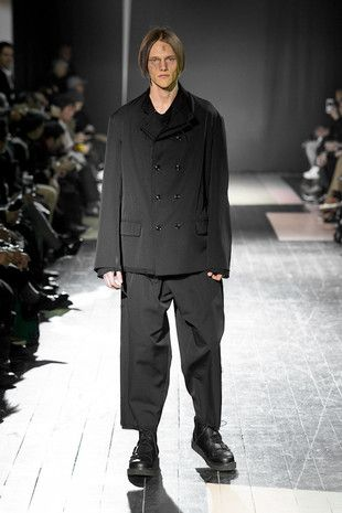 Yohji Yamamoto Presents a Melange of Chic and Complex Patterns (2015-16 A/W for Men)ja29 15