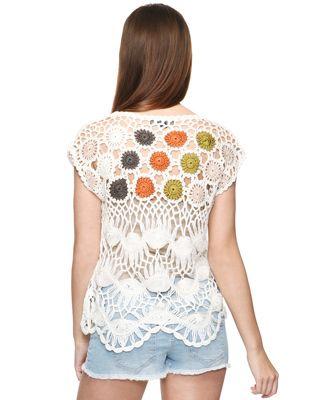 Coloured Dots Crochet Top. Forever 21 http://4.bp.blogspot.com/-M_K1TyeeR2k/TlRxwJcFoSI/AAAAAAAAA_o/oOn5L-tL0aI/s1600/70220472-01.jpg