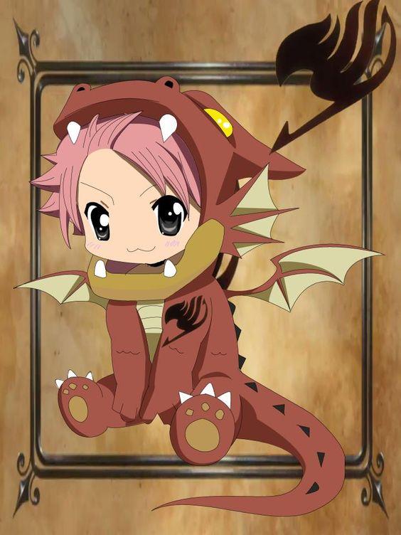 Chibi Natsu Dragneel. Soooooooooooooooo CUTE! I just died!