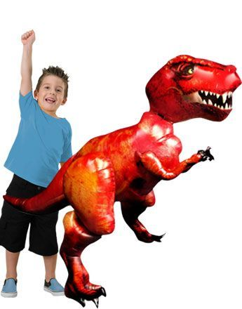 "Air Walkers: 61"" Tyrannosaurus Rex Airwalker Balloon Foil (each)  (Inflated price £25.99)"