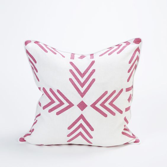 Hot Pink Throw PIllow Cover by Celadon Home l #shopceladon