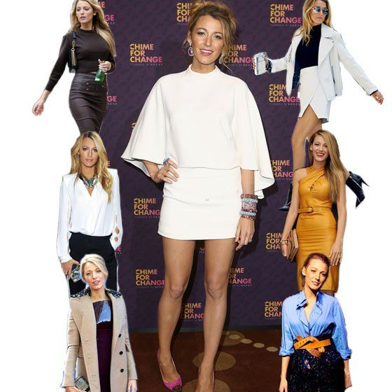 O estilo da atriz Blake Lively é composto de peças fashionistas.