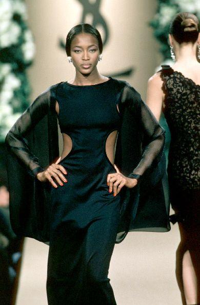 Naomi Campbell @ Yves Saint Laurent Haute Couture, SS 1999