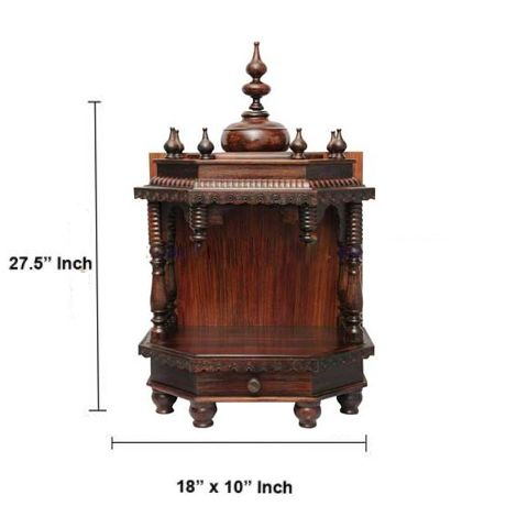 Rosewood Carved Puja Mandir 2 5ft Carving Stuff To Buy Small